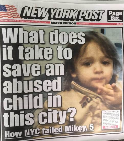 mikey new york post