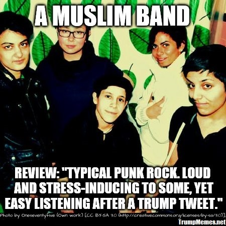 Muslim Canadian punk rock band Secret Trial Five