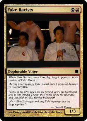 fake-racists