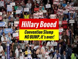 DNC Convention Slump
