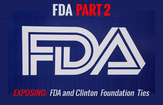 FDA & Clinton Foundation