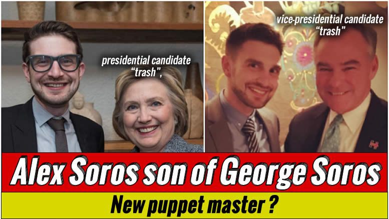 Alex Soros son of George Soros slithers from the shadows!