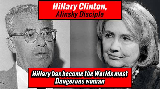 Clinton's letter to Saul Alinsky