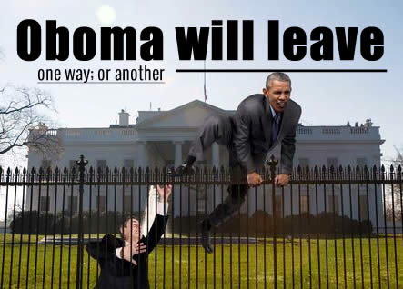 Obama's Arrogance- he will leave