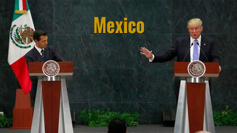 Trump visits Mexico