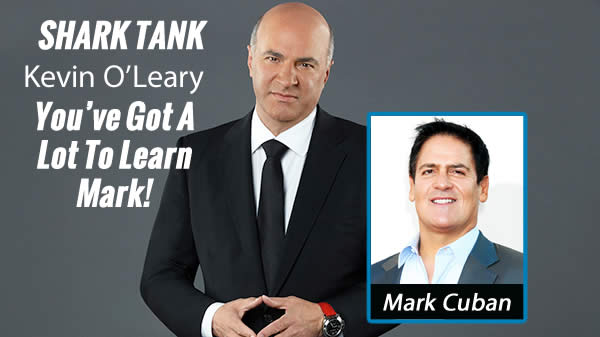 Kevin O'Leary Tells Mark Cuban Why Trump is Going to be the Next President!