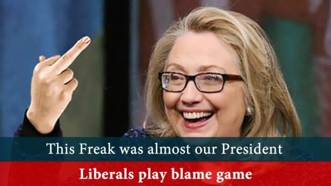 Liberals play blame game
