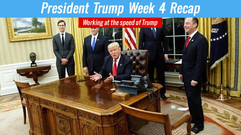 Trump Week 4 Excitement Surrounds the President - Team Trump-Pence