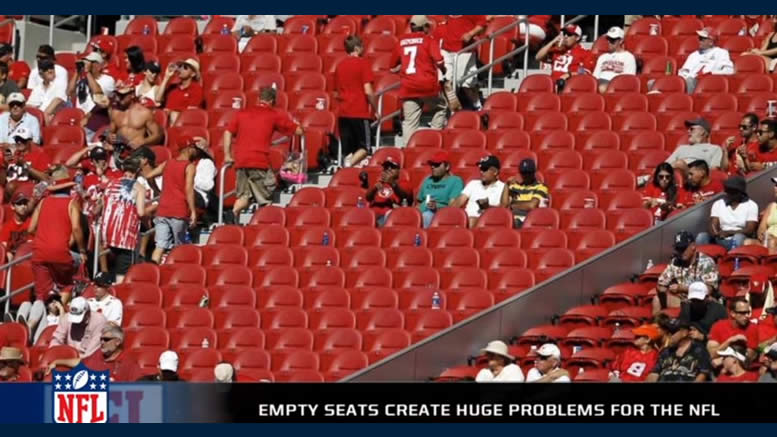 NFL Boycott is Working - Empty Seats - TV Viewership Down