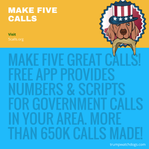 Get a free app that helps you call government reps