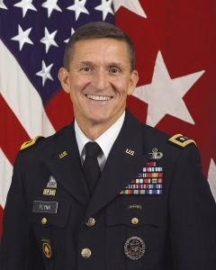Retired US Army Lieutenant General, and current subject of Pentagon and Defense Department investigations, Michael T. Flynn