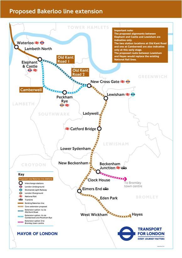 Bakerloo Map