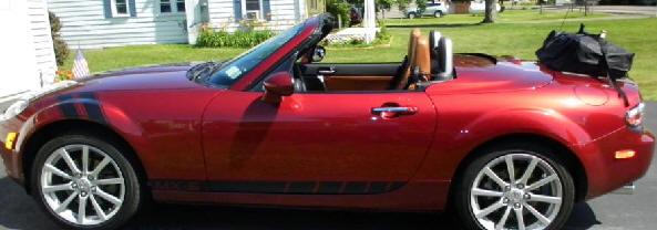 Black Modern Rack Fits NA NB NC /& PRHT Mazda Miata Luggage Rack