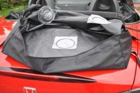 bootbag car luggage rack