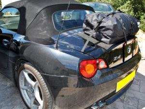 BMW Z4 E85 Luggage Rack Fitting stage 3