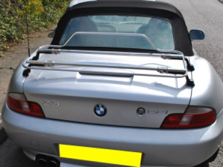 BMW Z3 Luggage Rack stainless steel