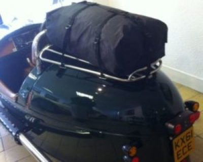 Morgan 3 wheeler luggage rack