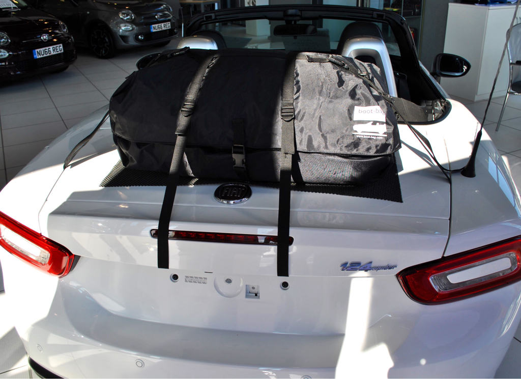 Fiat 124 Spider Luggage Rack Waterproof Luggage Bag No