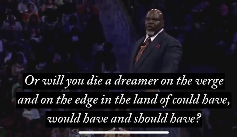 die a dreamer quote