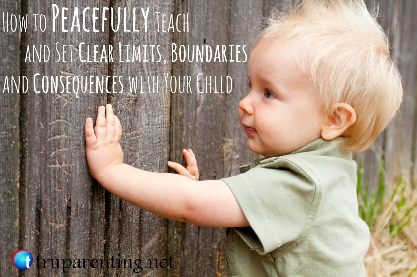 how to teach and set limits