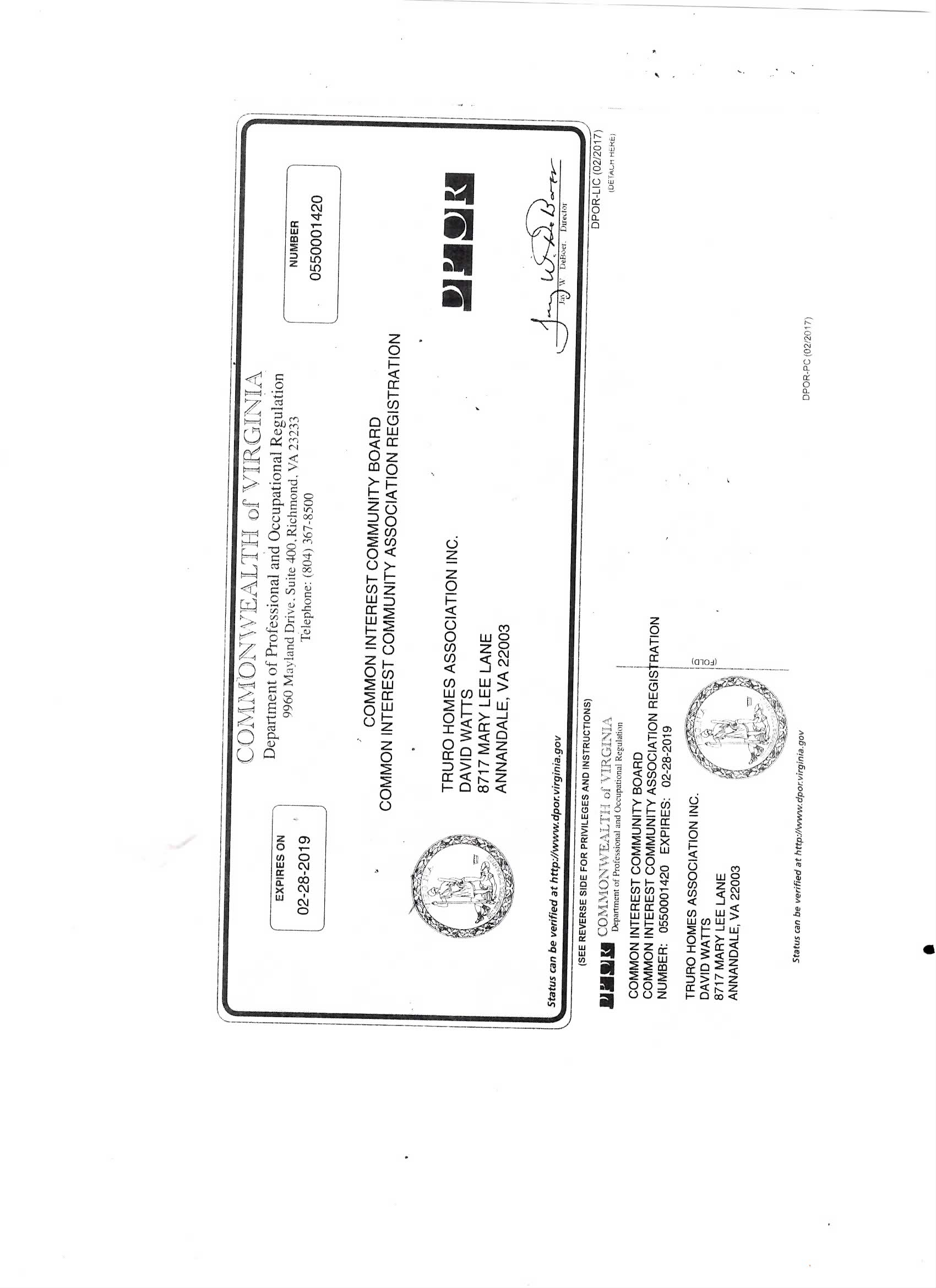 Official Documents