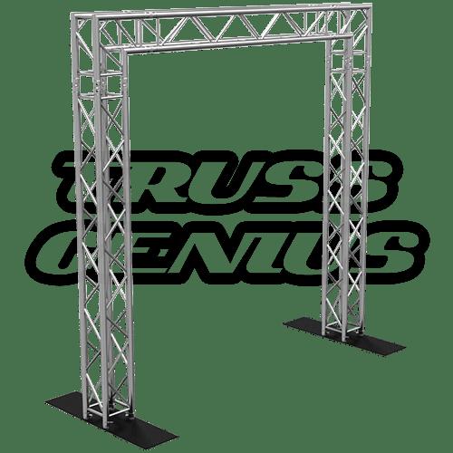 goal post f34 square truss system 10x10