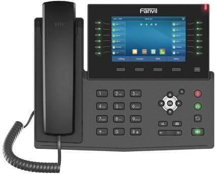 fanvil-ip-phone-x7c-high-end-enterprise-ip-phone