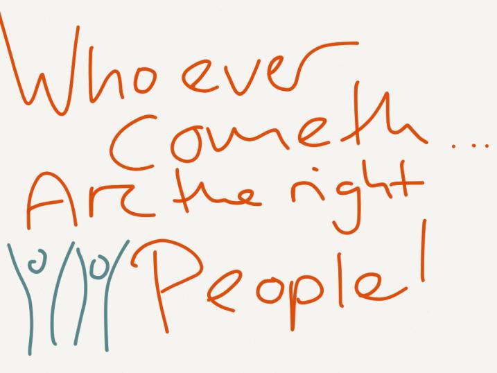 Who ever cometh
