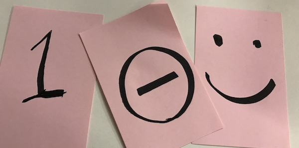 Three similar cards