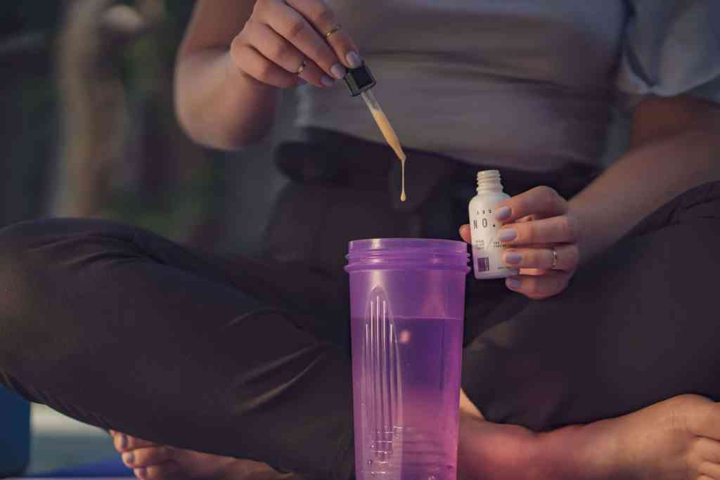 CBD in your water or shake