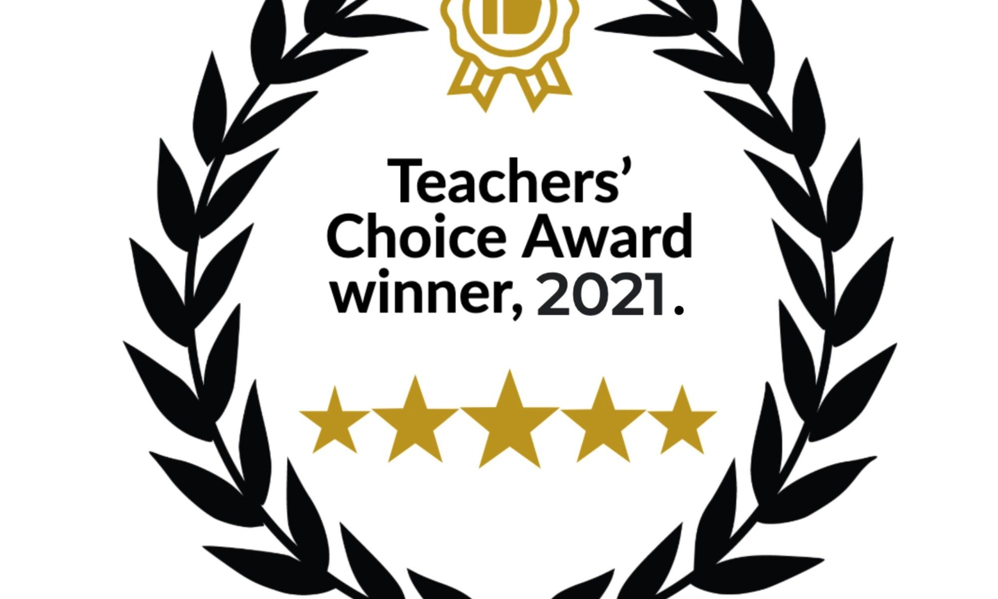 TEFL Teachers' Choice Award 2021