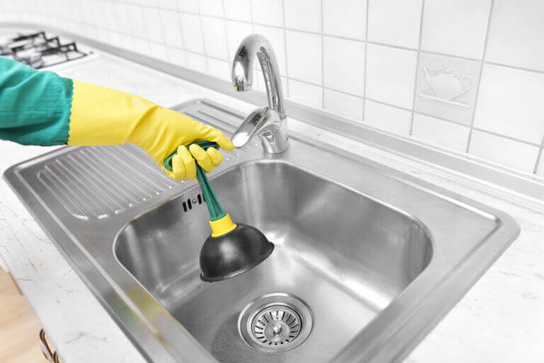 is drain cleaner safe for my garbage