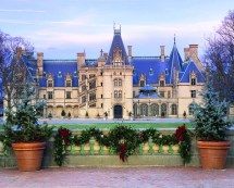 Biltmore Estate Christmas Time Holiday Tours