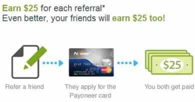 Payoneer affiliate program