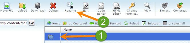 WordPress white screen of death fix