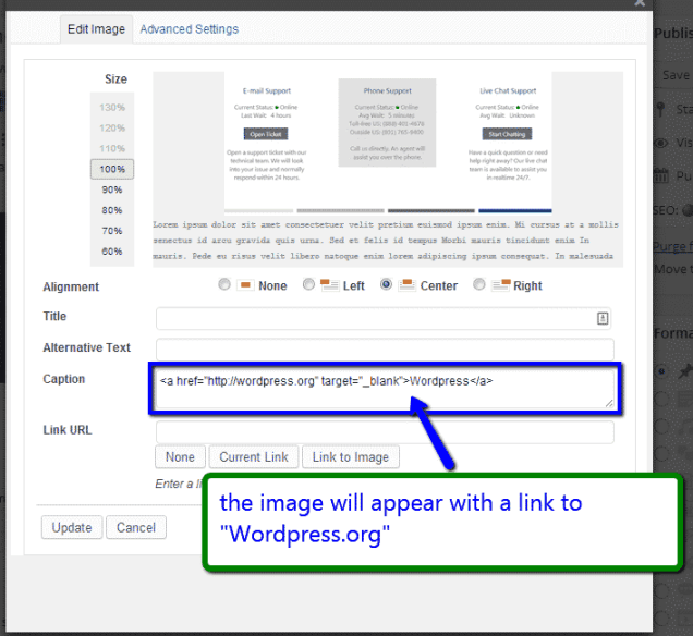 How to Add a Link to Image in WordPress