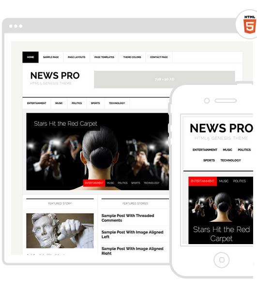 News Theme for WordPress