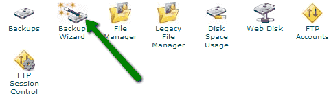 create database backup