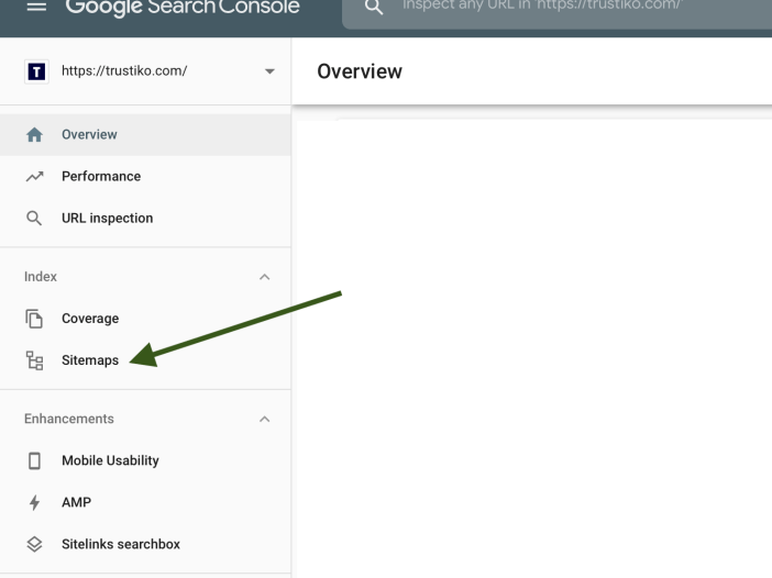 how to add sitemap in Google Search Console