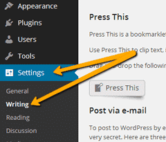 How to set default Category in WordPress