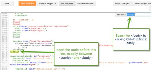 Adding Shorte code in Blogger
