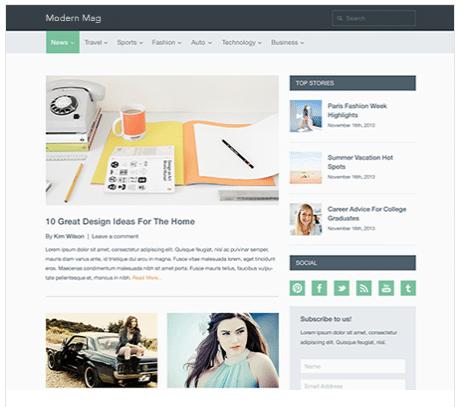 SEO ready WordPress themes