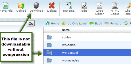 download from file manager