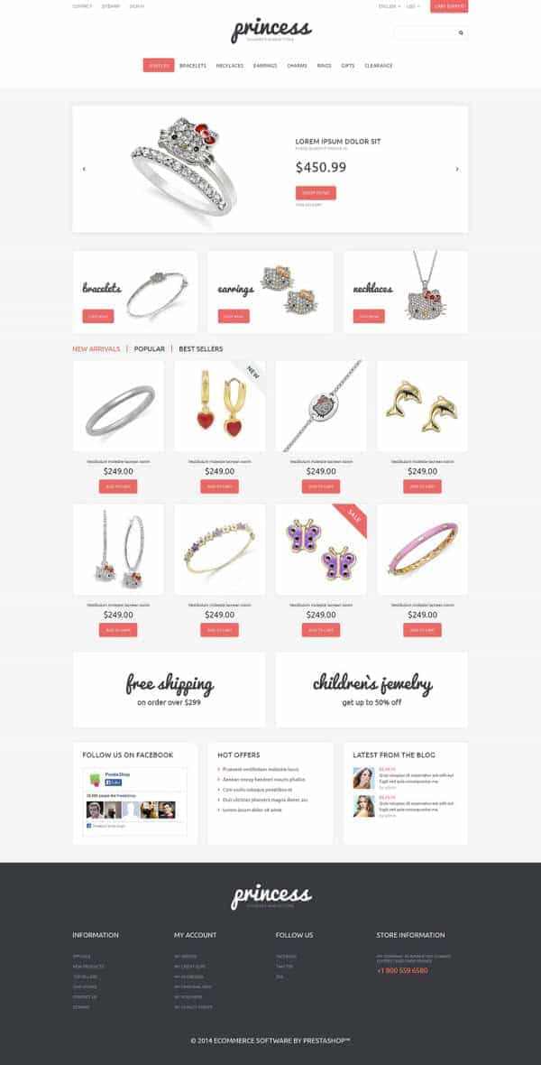 Children Jewelry Theme