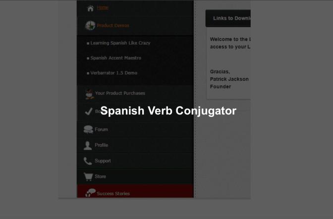 Spanish Verb Conjugator