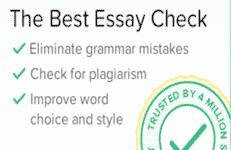 Essay checker software