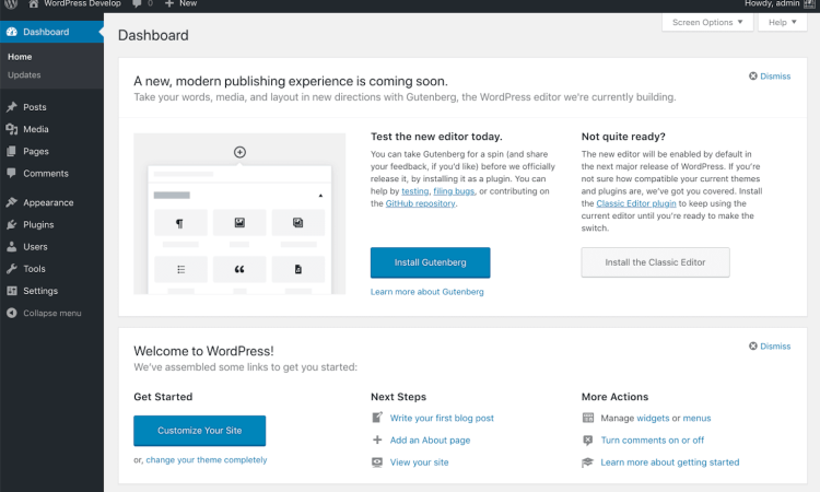 moving a WordPress blog post to another page