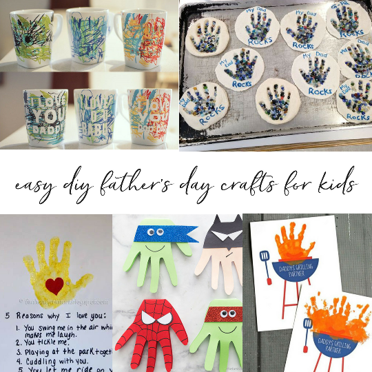 Easy Diy Fathers Day Crafts For Kids Trusting Connections