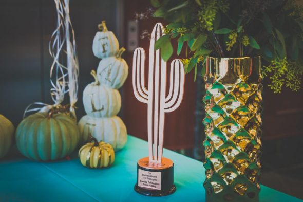 Award-winning nanny agency Trusting Connections - Copper Cactus Award