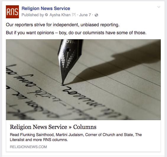 RNS columnists
